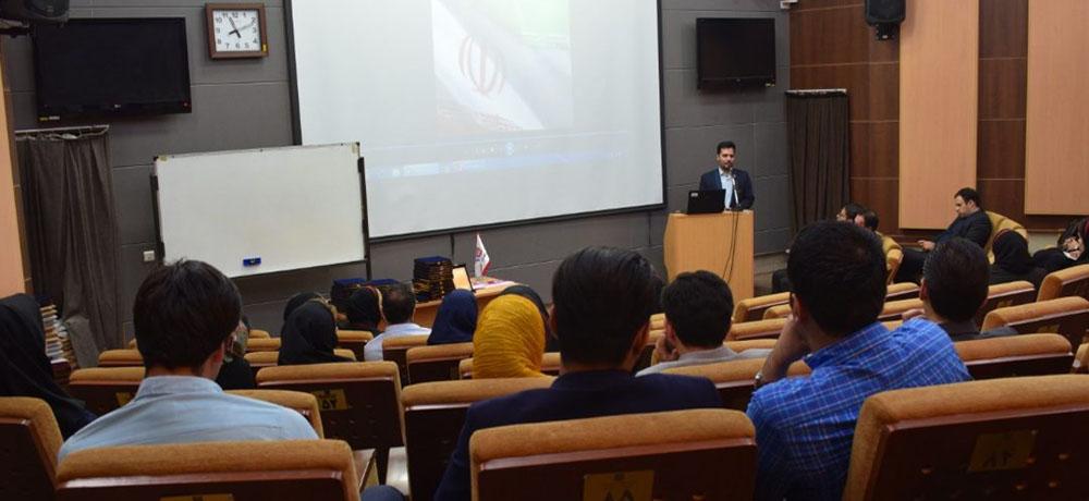 سخنرانی مهندس علمدار در جمع پزشکان و دندانپزشکان در دانشگاه تهران