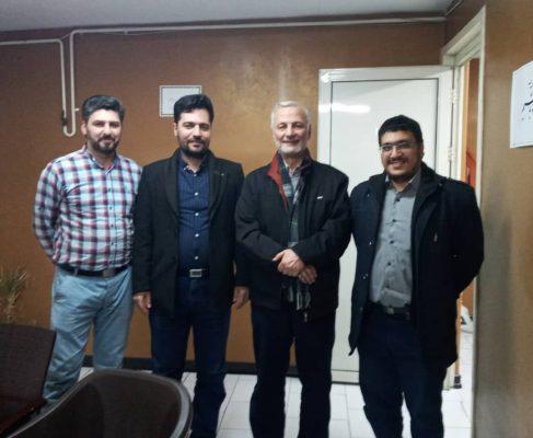 جلسه با کارآفرینان برتر و دکتر نواب مدیر عامل موسسه خیریه نورالزهرا