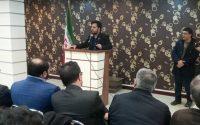 سخنرانی مهندس علمدار در همایش اعضای استان تهران